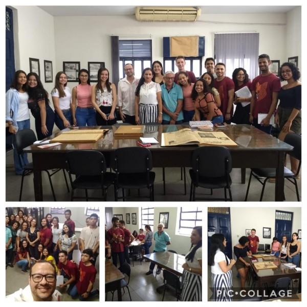 Visita guiada curso Jornalismo 18.06.2019